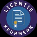 Licentiekeurmerk logo
